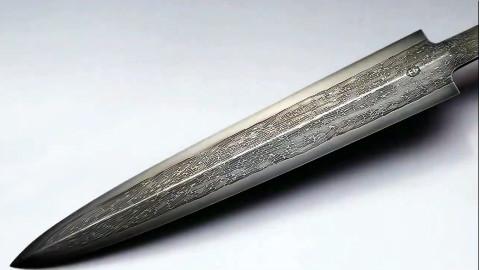 【制刀篇】纯手工打造大马士革电缆的艺术品匕首刀片