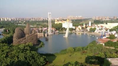 上海欢乐谷水幕天极