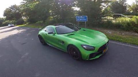 第一人称 奔驰 AMG GT R 狂飙294KMh