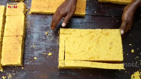 【印度美食】传统糖果制作