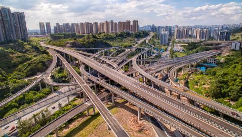 中国逆天大桥,全世界没有导航可以正确引导!常常让司机不敢开
