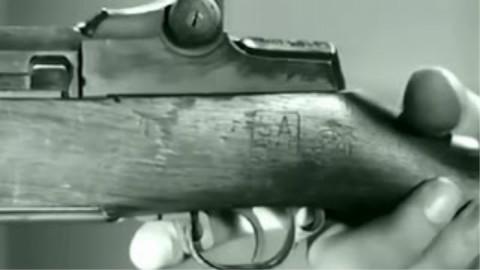 M1加兰德的基本使用和工作原理|美国陆军军教片1943
