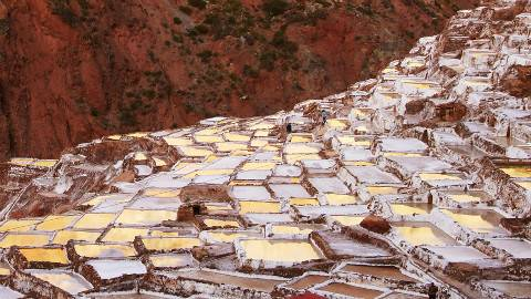 世界上最古老的盐田之一:用1000多年前的方法制盐!