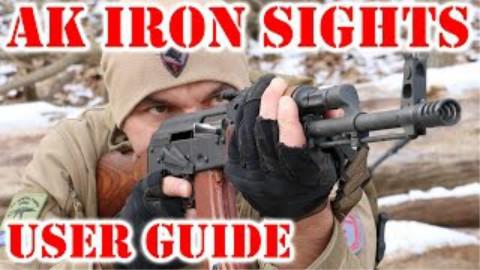 如何使用AK-47 / 74的机械瞄具