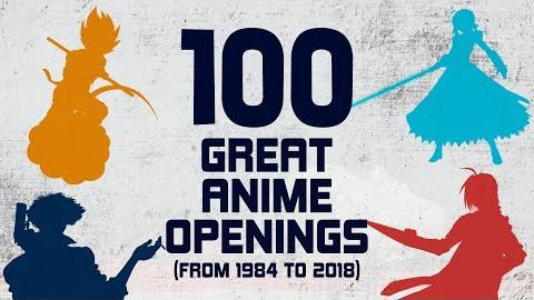 日本动画百佳片头曲(1984-2018)