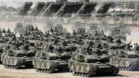 """最新消息!解放军""""土豪旅""""首战朱日和,可正面击溃美军重装旅"""