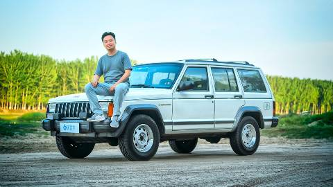白话汽车:我们关于越野的共同记忆,北京吉普切诺基