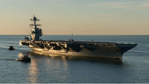 详解史上最牛航母福特级,四大技术吊打辽宁舰,003将进行全面跟踪