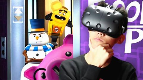 VR电梯模拟器 怕冷的雪人?鲤鱼Ace