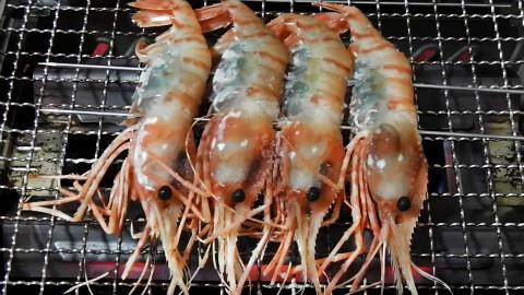 【垂涎零点档】第10弹 盐泽烤虾