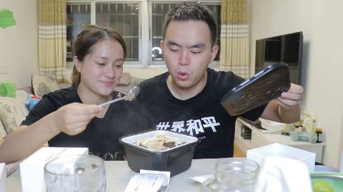"""试吃最清淡自热火锅""""寿喜锅"""",麻辣口味吃腻了是不是该换换口味了"""