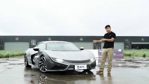 老司机试车:近400马力、全碳纤维车身仅卖70万?抢先试驾前途K50