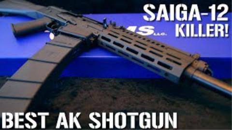 [Guns and Guitars]便宜好用 天朝版Saiga-12(IARMS EM12B霰弹枪)