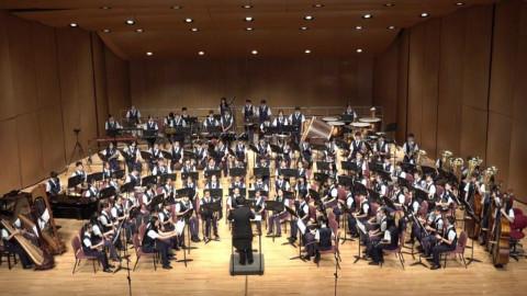 交响组曲「君の名は。」- 台北市立大安国民中学管乐团 演奏