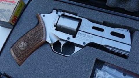 [BERETTA9mmUSA]齐亚帕犀牛 40DS .357左轮手枪