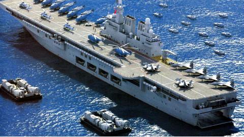 4万吨巨舰,加装电磁弹射,我军可多出3艘航母?