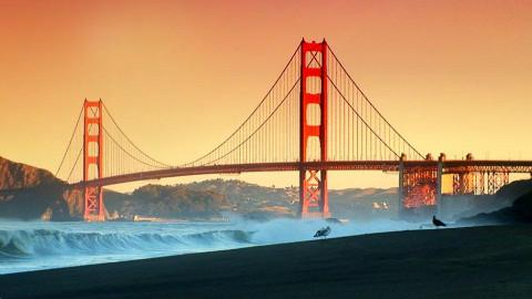 电影中的最惨的一座桥——金门大桥