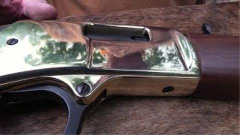 """[hickok45]亨利""""大男孩"""".327马格南杠杆步枪"""