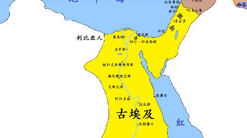 【史图馆】古埃及历史地图