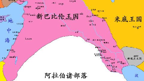 【史图馆】苏美尔与巴比伦历史地图