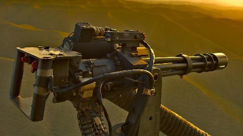 【讲堂353期】第一款加特林机枪居然需要人力手摇,当换成电动后,威力毁天灭地