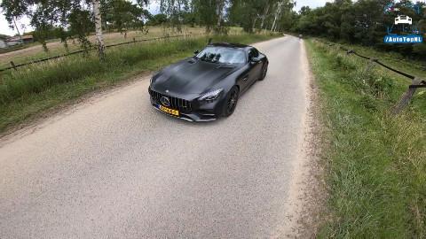 第一人称 奔驰 AMG GT C Edition 50 公路驾驶