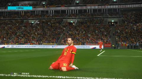 实况足球2018 比利时对阵法国 俄罗斯世界杯 卧莲解说