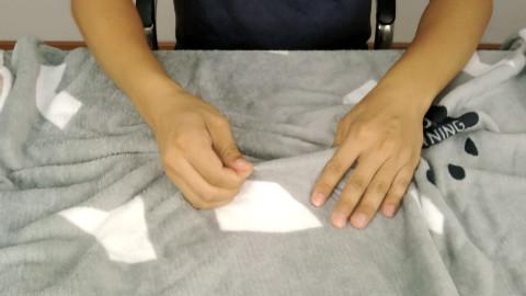7.9元网购的珊瑚绒毛毯,做工怎么样