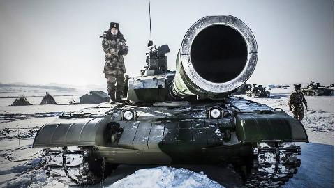 99式坦克究竟有多强:瞬间击穿10层装甲