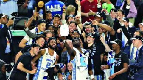 【全场录像】2017年NCAA决赛 冈萨加VS北卡