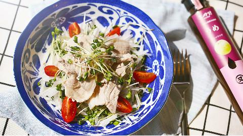 减肥还想吃涮肉,不如给自己做份涮肉沙拉吧!