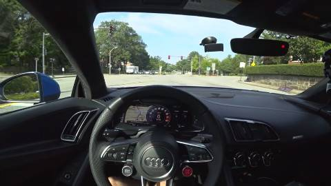 第一人称 2018 奥迪 R8 公路驾驶 弹射起步