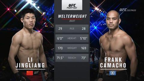 UFC:吸血魔 李景亮 VS 弗兰克-卡马乔