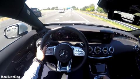 2019 奔驰 AMG S63 Coupe AMG 车内视角