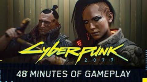 《赛博朋克2077》游戏玩法演示——展示时长48分钟