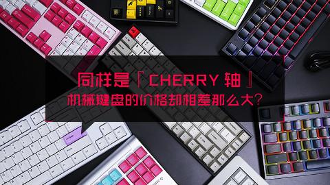 同样是 Cherry 轴,机械键盘的价格怎么相差那么大?