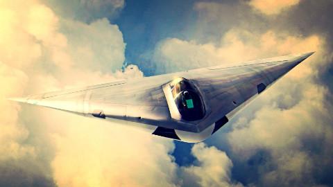 【讲堂365期】美军神秘的隐形战斗机,三角翼结构,花费上百亿都没有研发出来