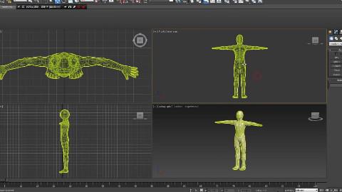 3DMax 2016 套骨架教學