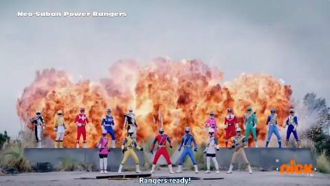 【PR】美版超能战队(Power Rangers)25周年:超级忍者之钢特别纪念集 最终决战片段!