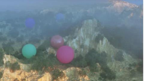 七喜:CINEMA 4D超大地形场景渲染