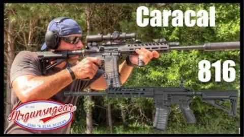 [Mrgunsngear Channel]狞猫CAR816活塞式步枪