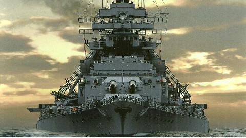 【讲堂369期】二战德国最强战列舰之一,第二艘俾斯麦级,提尔皮茨号战列舰