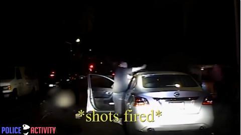 【细细的蓝线】美国警察与帮派分子的对射