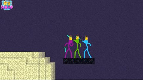 我的世界动画 火柴人与末影龙的终极战斗