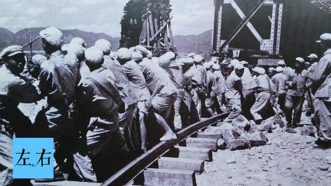 铁道兵向敌军轰炸机疯狂挑衅,为掩护一列火车不顾生死!
