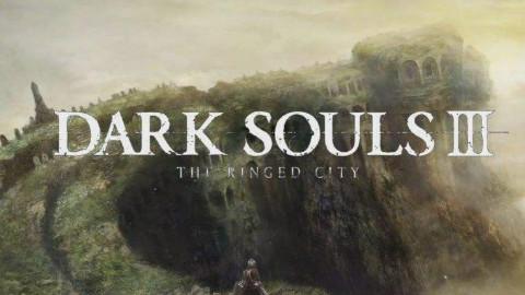 笑笑黑暗之魂3实况解说第十九期环印城DLC(吞噬黑暗的米狄尔,奴隶骑士盖尔,薪王的化身,教堂之枪)