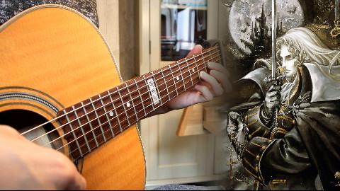 恶魔城经典曲目吉他连弹,你听过几首?【指弹吉他】