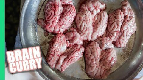 印度街头美食-最后有炒羊脑