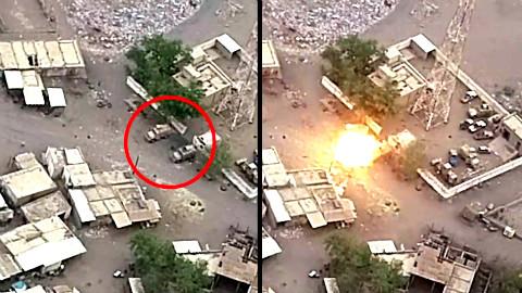 【欧肯视线】祸从天降!抱头鼠窜就是形容也门联军这场景的