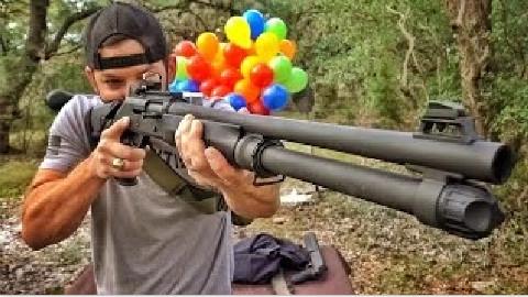 【爆破牧场】最好的家庭防卫武器?伯奈利M4!(蛋清字幕)